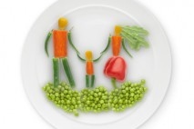 Warzywa na talerzu