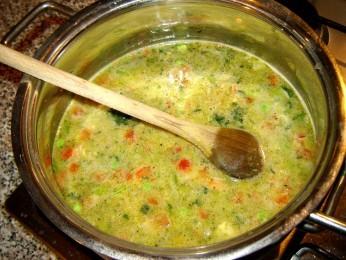 Zupa w baniaku