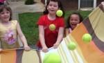 Dziewczynki się bawią