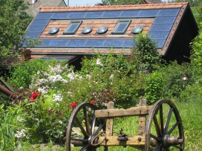 Ekologiczny dom na wsi