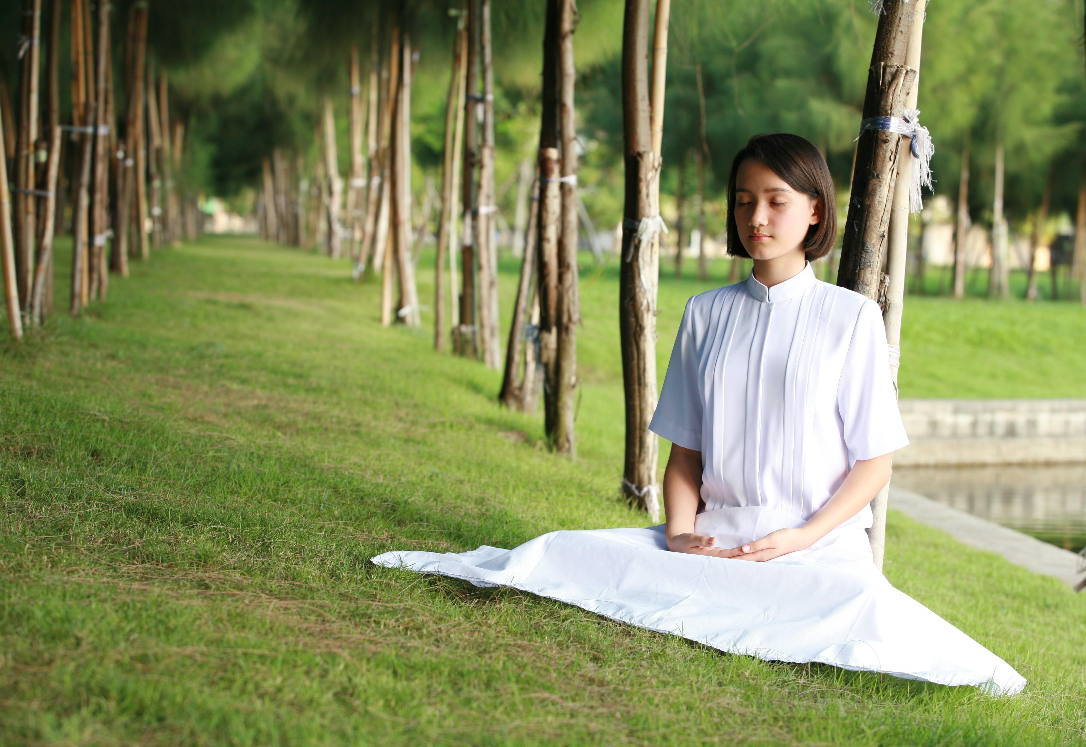 Kobieta - medytacja