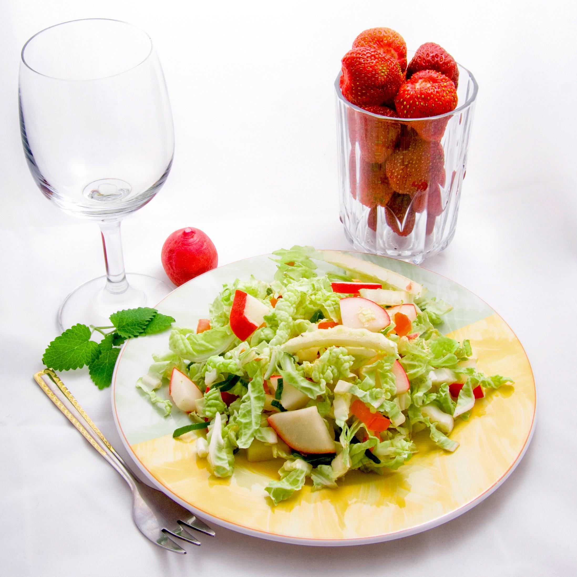 Raw food - sałatka