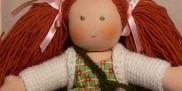 Szmaciana lalka waldorfska