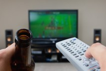 Telewizor i piwo