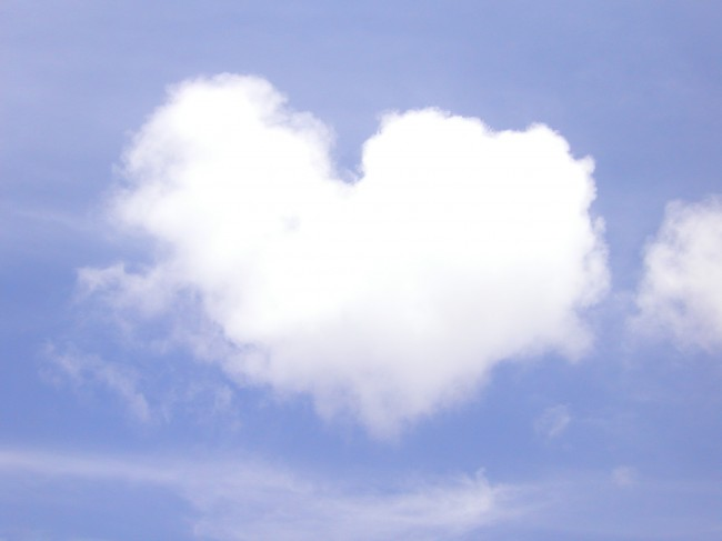 Chmurka na niebie