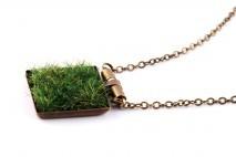 Naszyjnik z trawą