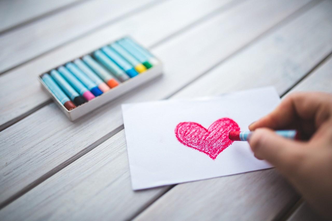rysowanie serca