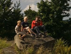 Dzieci w górach