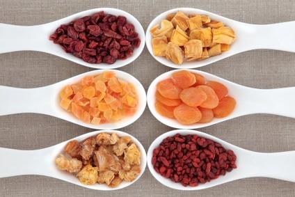 Zdrowe przekąski - suszone owoce