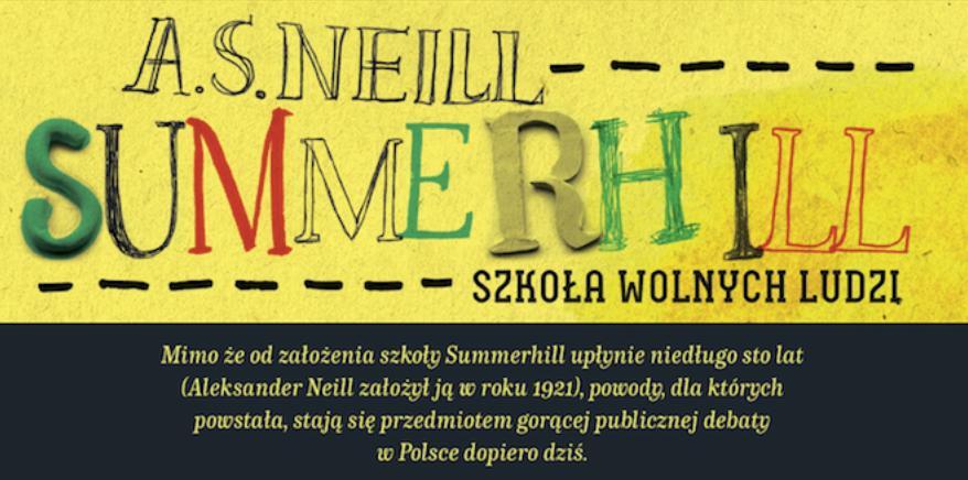 Książka Summerhill