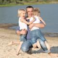 Ojciec z dziećmi