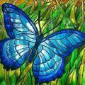 Malowanie na szkle - witraże
