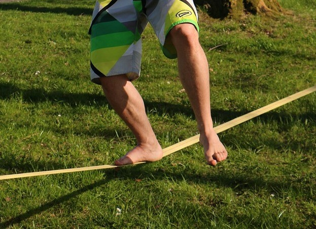 Slackline - sport