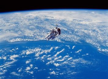 Astronauta - kosmos