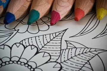 Kolorowanki antystresowe - mindfulness