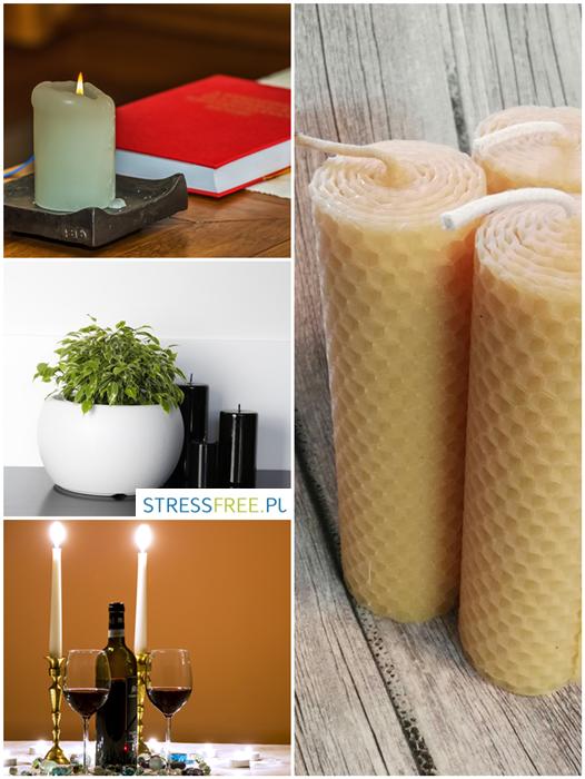 Świeczka - dekoracje w domu