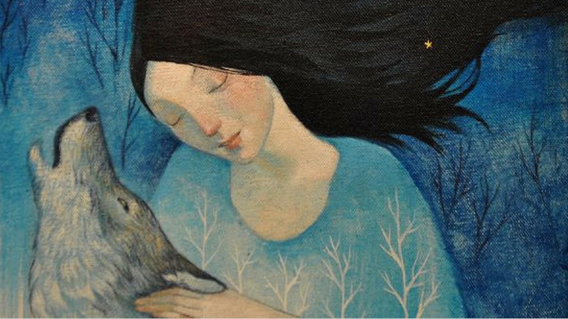 Przebudzenie lisicy ilustracja z książki