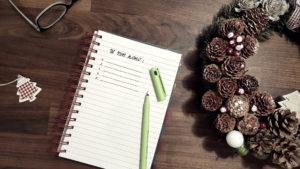 Lista postanowień noworocznych